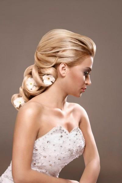 hair design wedding party