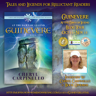 Book for Fans of Arthurian Legends (Guinevere: At the Dawn of Legend by Cheryl Carpinello)