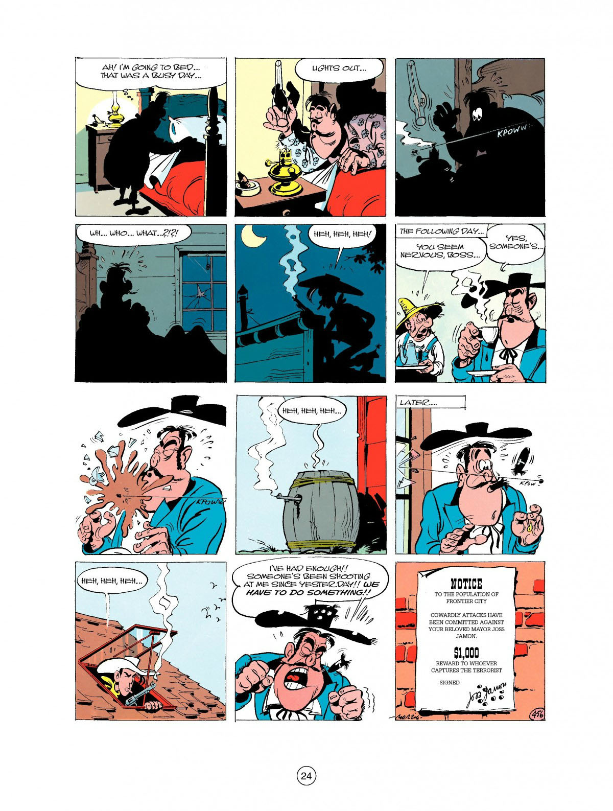 Read online A Lucky Luke Adventure comic -  Issue #27 - 25
