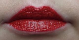 červený rúž