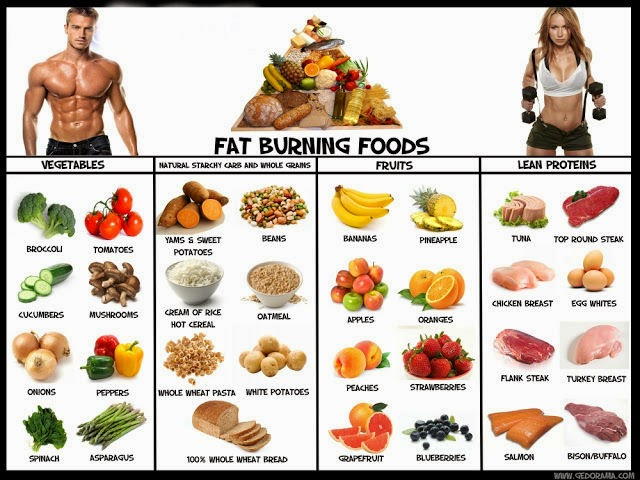 Foods And That Help Burn Fat