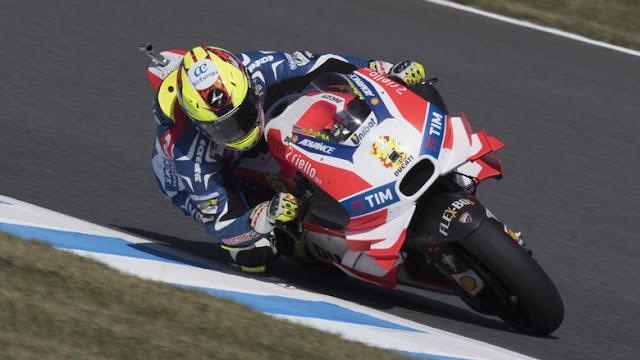 Iannone Masih Absen, Barbera Membalap untuk Ducati di Phillip Island