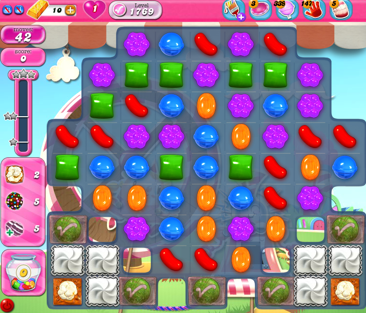 Candy Crush Saga 1769