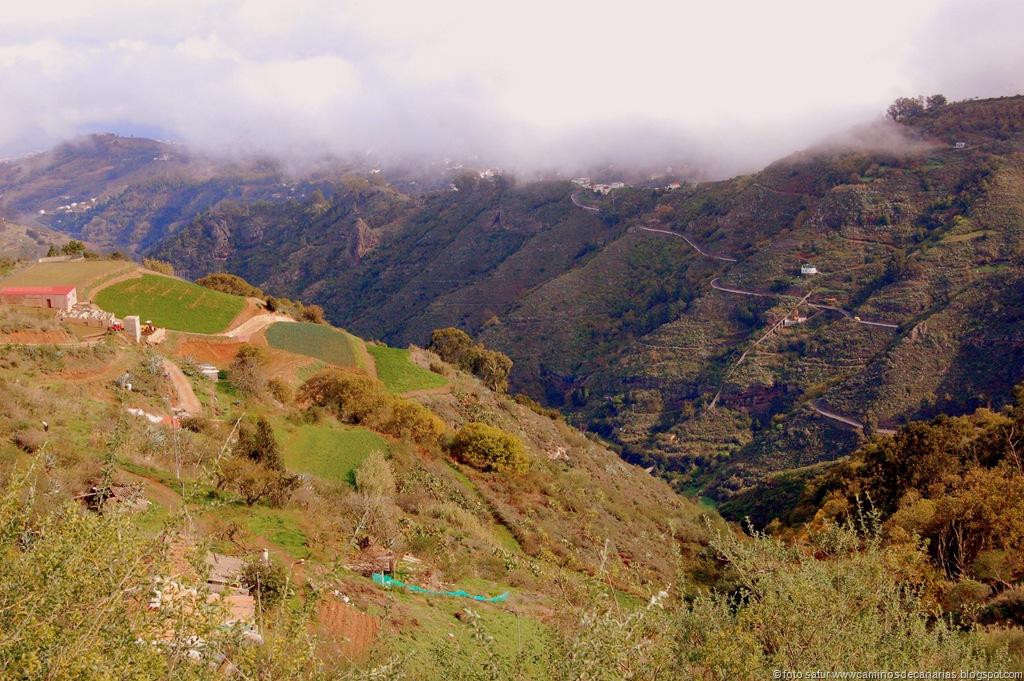 Caminos de Canarias Camino de Montaa PajaritoValsenderoValleseco