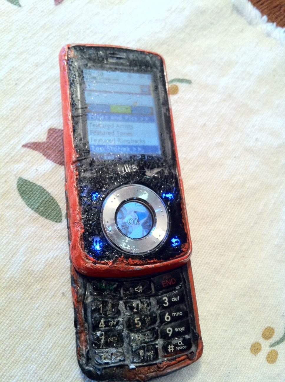 ... Iu0027d Have A Good Excuse Why I Didnu0027t Return Any Of My Calls In A Timely  Fashion. If Youu0027ve Seen A More Durable Cell Phone, Iu0027d Like To See It.