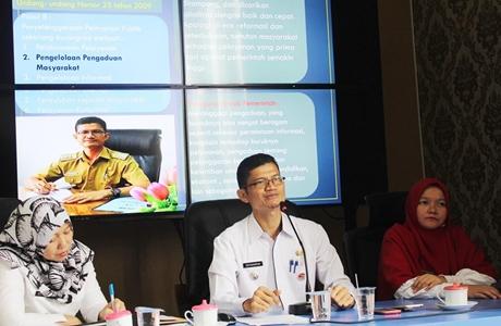 Camat Editiawarman Paparkan Inovasi di Padang Utara