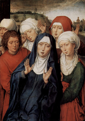Hans  Memling  Diptych  with  the  deposition C