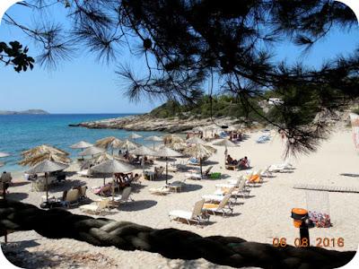 plaja Astrida in Thassos