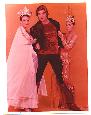 Flash Gordon, Sam Jones, Queen