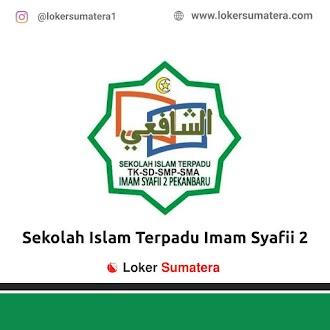 Lowongan Kerja Pekanbaru: Sekolah Islam Terpadu Imam Syafii 2 Juni 2021