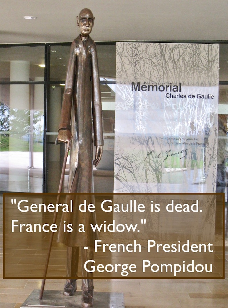 Charles De Gaulle Memorial. Colombey-les-deux-Eglises, France