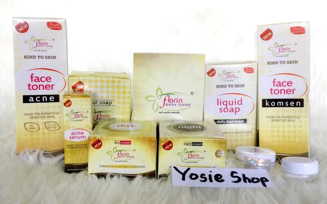 Produk Cream Florin Skin Care Original -  Krim Pembersih Wajah Untuk Mencerahkan Kulit Wajah dan Menghilangkan Jerawat Pada Muka