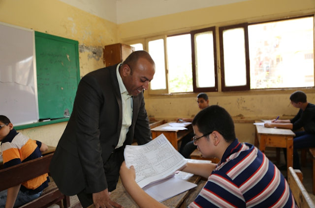 تعرف على اسم الطالب المتسبب فى تسريب امتحان اللغة العربية اليوم 3-6-2018 الاحد
