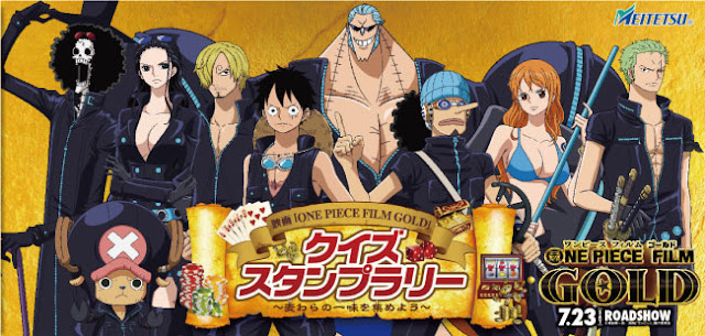 One Piece Gold 2016 Sub Indonesia Bluray