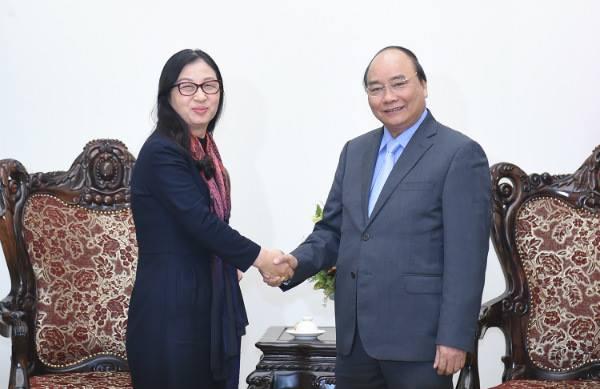 Thủ tướng Nguyễn Xuân Phúc muốn Huawei hợp tác với các doanh nghiệp Việt trong lĩnh vực an toàn thông tin