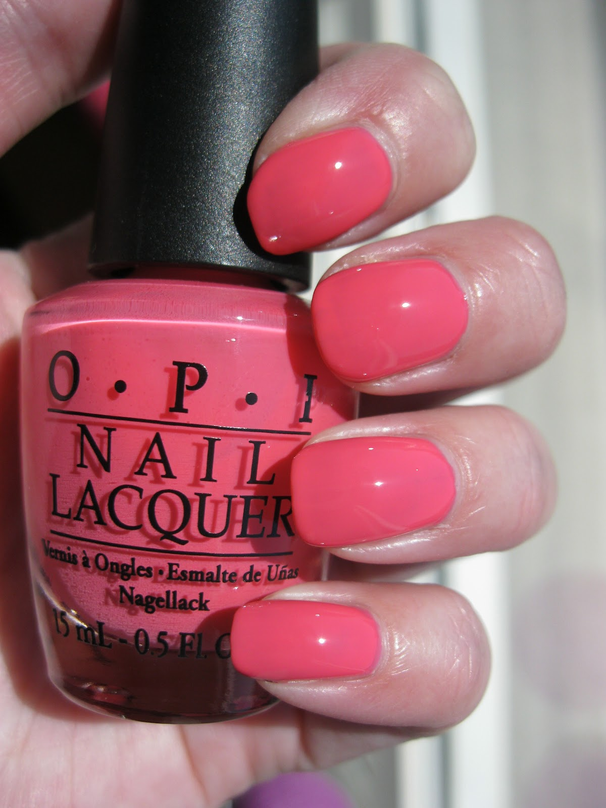 The Lacquer Tracker Opi Elephantastic Pink