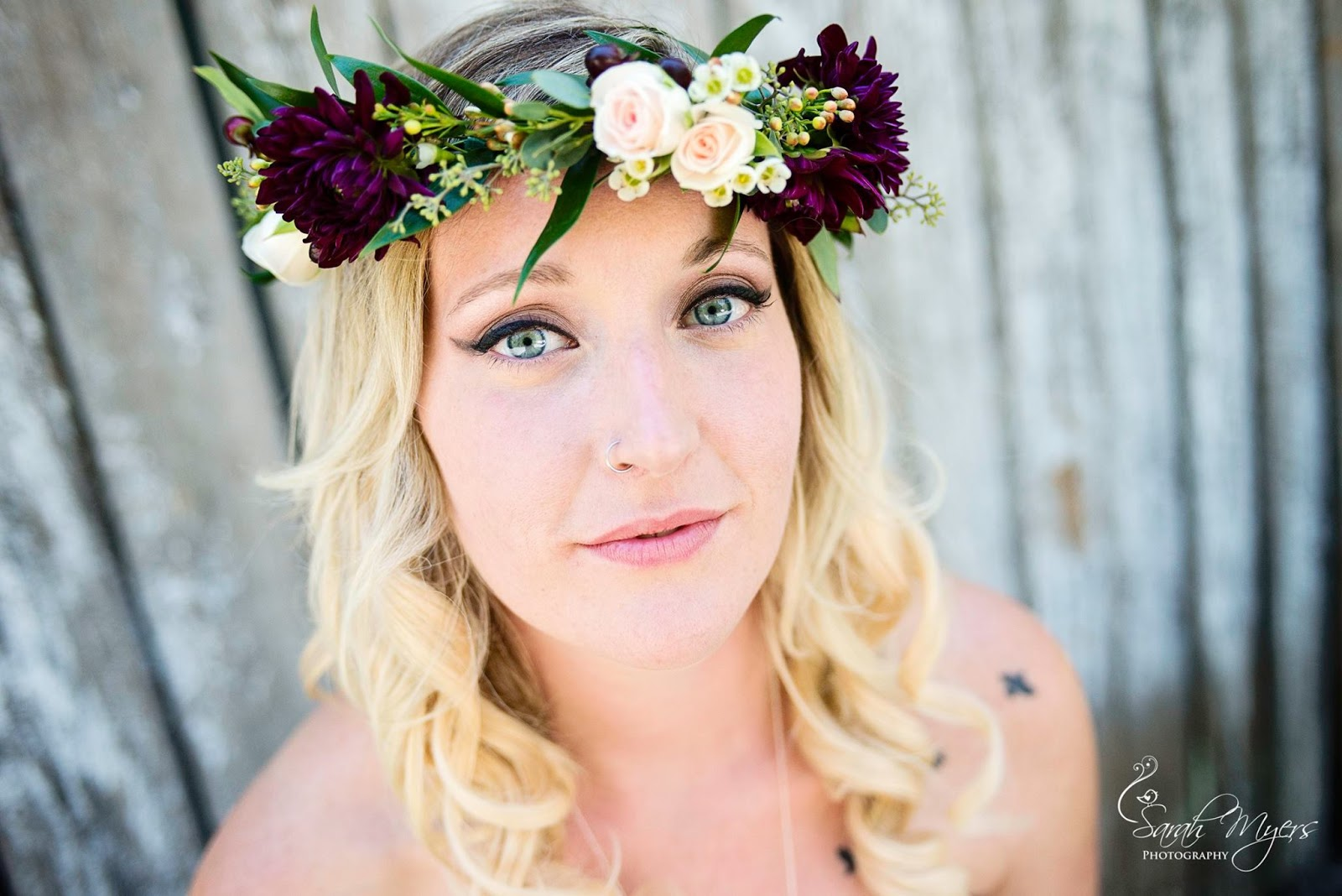 Lisa foster floral design flower crowns each flower crown created at the shop is custom and handmade each designer places each flower individually to create the perfect crown for you izmirmasajfo Gallery
