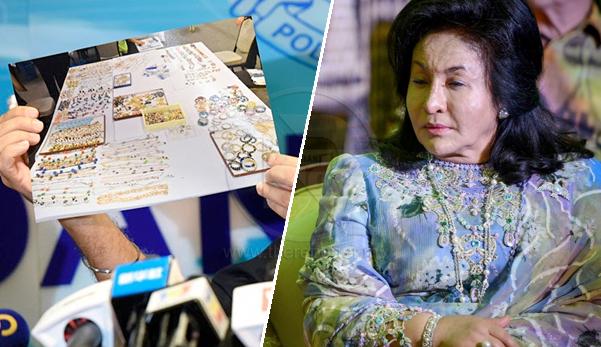 Senarai 44 barangan kemas bernilai RM60 juta, paling mahal Subang Berlian RM2.6 juta