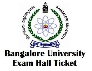 Bangalore University Admission Tickets 2018