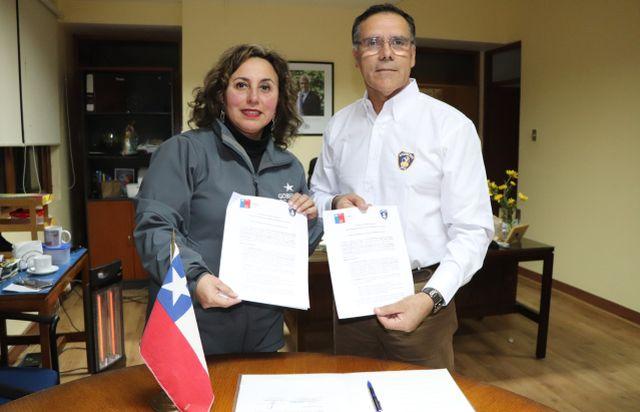 Seremi, Ingrid Schettino Pinto y Alberto Vásquez