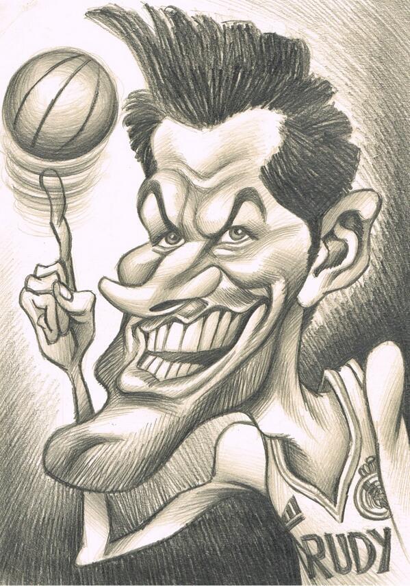 """""""Rudy Fernandez"""" por Joan Vizcarra"""