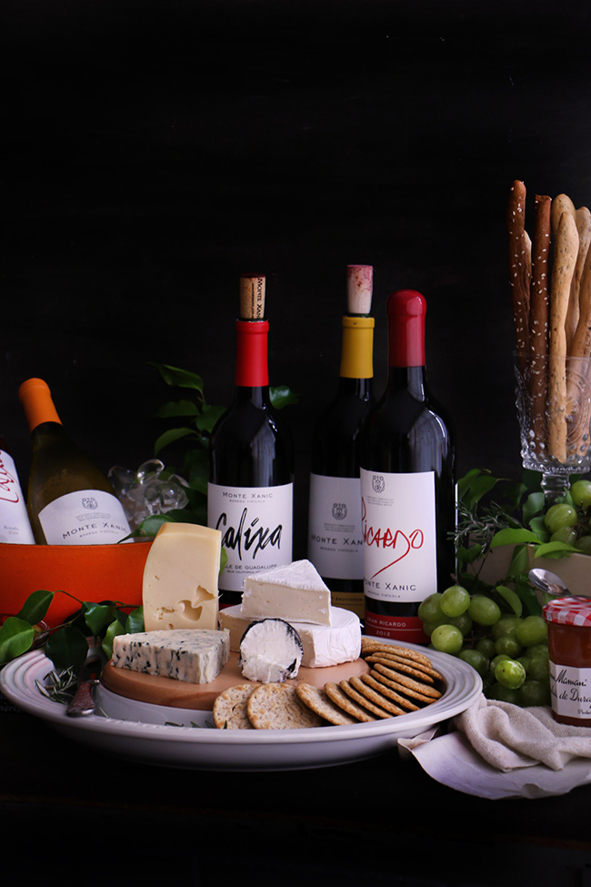 Setting a Wine and Cheese Buffet Table
