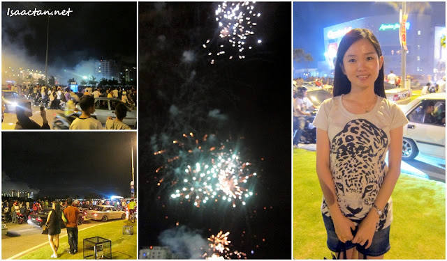 Queensbay Mall Countdown Fireworks