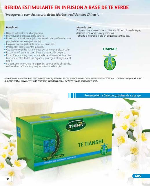 Te verde Antilipidos