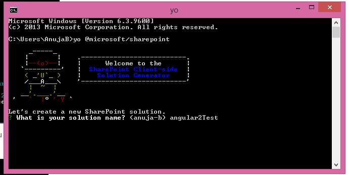 SharePoint: Step by Step SharePoint Framework setup with