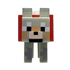Minecraft Series 2 Wolf Overworld Figure