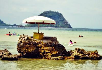 Pulau Condong Pantai Pasir Putih Lampung Valent Huba