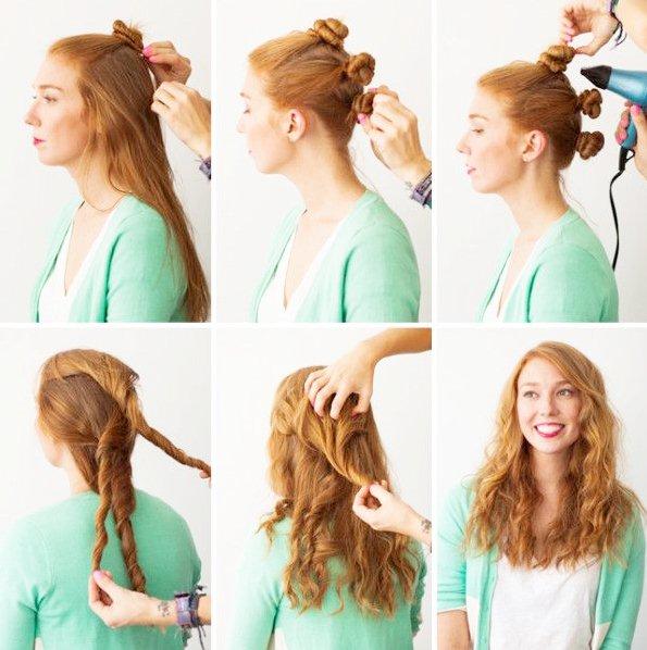 Corte para bajar volumen del cabello