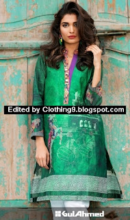 Gul ahmed Independence day dresses