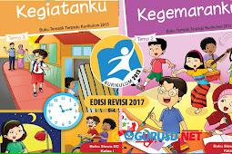 Inilah Buku Kelas 1 Kurikulum 2013 Revisi Tahun 2017