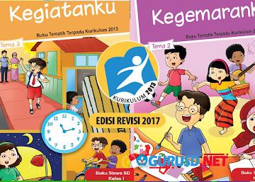 Unduh Buku Kurikulum 2013 Kelas 1 Edisi Revisi 2017