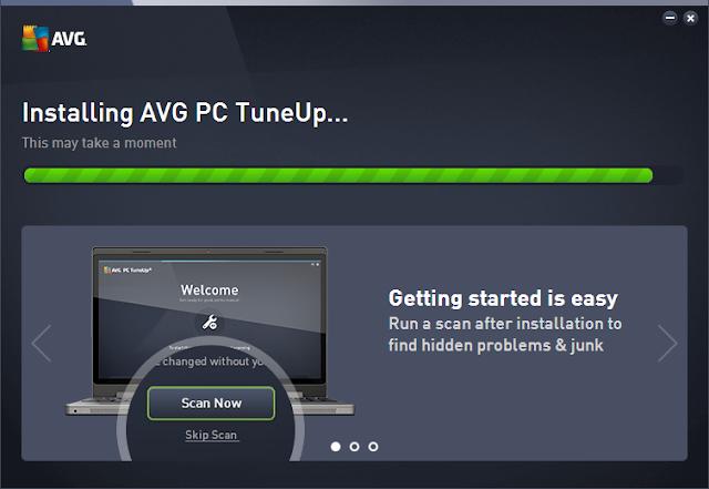 تحميل وتثبيت وشرح AVG PC TuneUp عملاق تنظيف وفحص الكمبيوتر