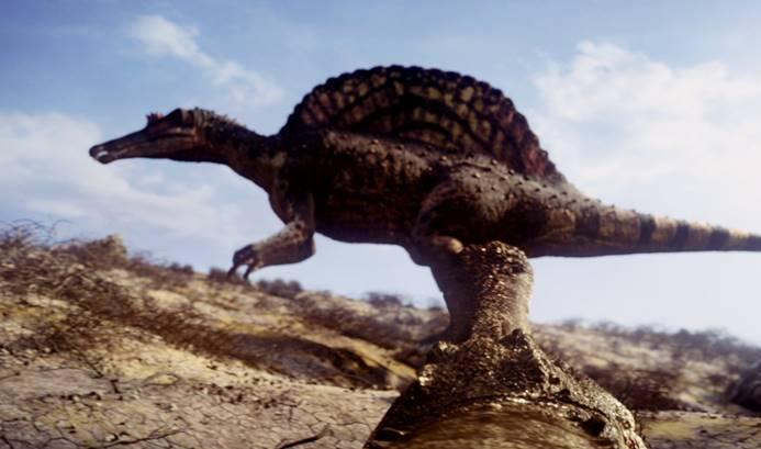 Gambar hewan purba sarcosucus