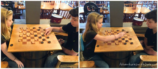 Cracker Barrel checkers