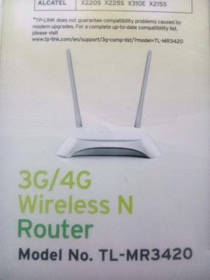 apa kabar semoga selalu baik dan sehat terus ya Akhirnya Beli Router Wifi 3G/4G TP-Link TL-MR3420 V3