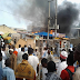 Photos: Fire outbreak at popular GSM market in Kano