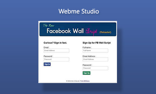 Free Source Facebook Wallscript Reloaded