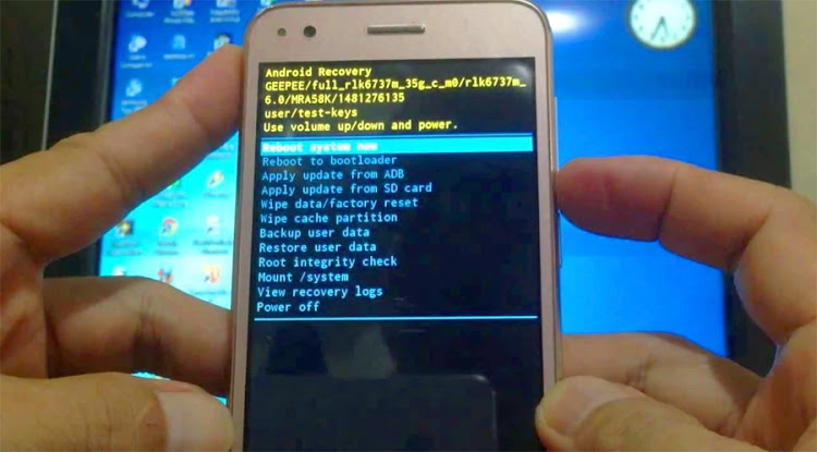 Cara Reset Android Advan Semua Tipe (Hard/Factory Reset)