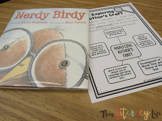 Using Nerdy Birdy will help students better understand author's craft and why they author uses specific ideas to make a story interesting. Delving deeper into author's purpose helps students better understand the ideas in a story.