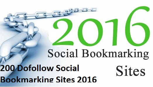 Top 200+ Free Social Bookmarking Site List 2018 | 200 Dofollow