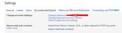 How to change google account password easily