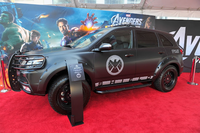 The Avengers Premiere: SHIELD-mobile