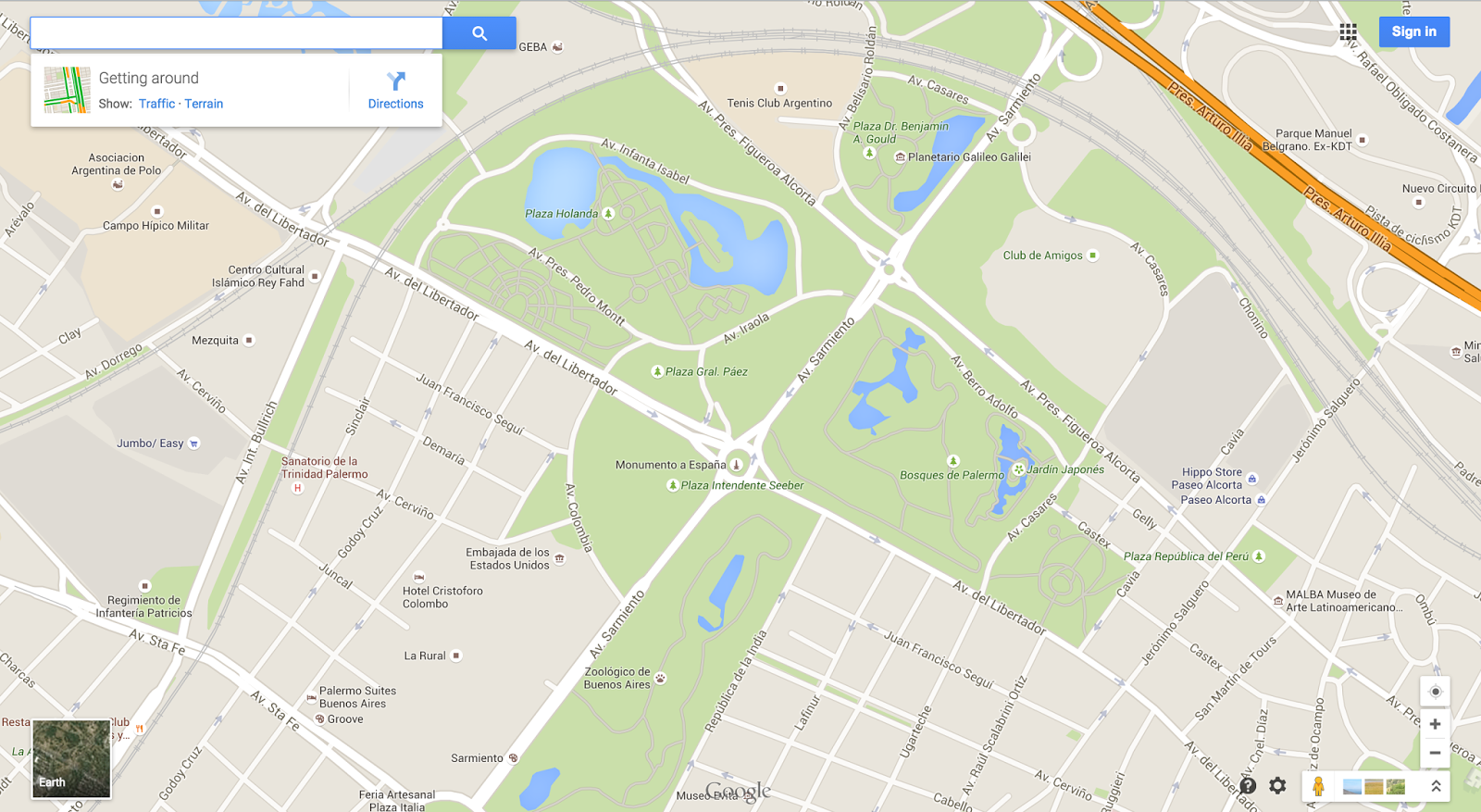 Google Lat Long Building Better Maps In Argentina Chile - Argentina map google