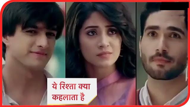 YRKKH Twist : Rishabh saves Naira from Naksh's wrath Kartik escapes in Yeh Rishta Kya Kehlata Hai