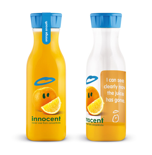 Innocent - Juice -designed Packaging Of