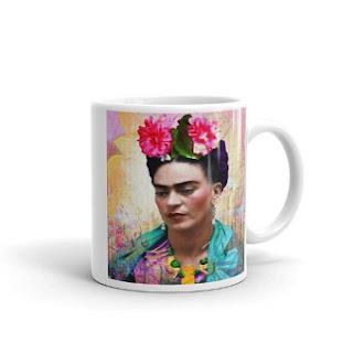 special designer frida kahlo mug
